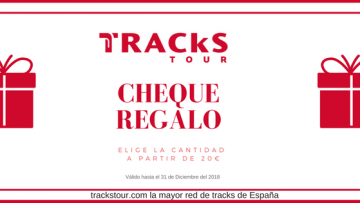 "Regala el cheque ""Tracks Tour: Vacaciones BTT"""